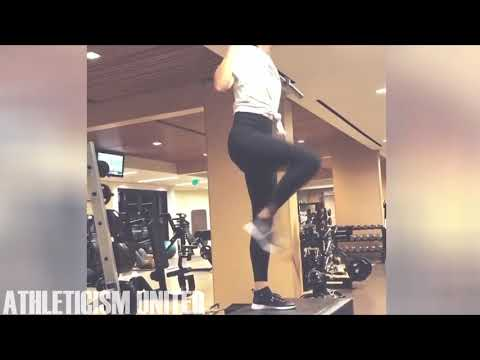 Maria Sharapova Power Training and Strength Workout 2018