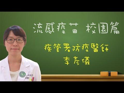 流感疫苗-校園篇 李彥儀醫師