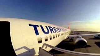thy boeing  istanbul atatürk havalimanı 35l pisti kalkis