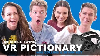 Video Virtual Reality Pictionary - Merrell Twins w/ Collins Key & Devan Key MP3, 3GP, MP4, WEBM, AVI, FLV Oktober 2018