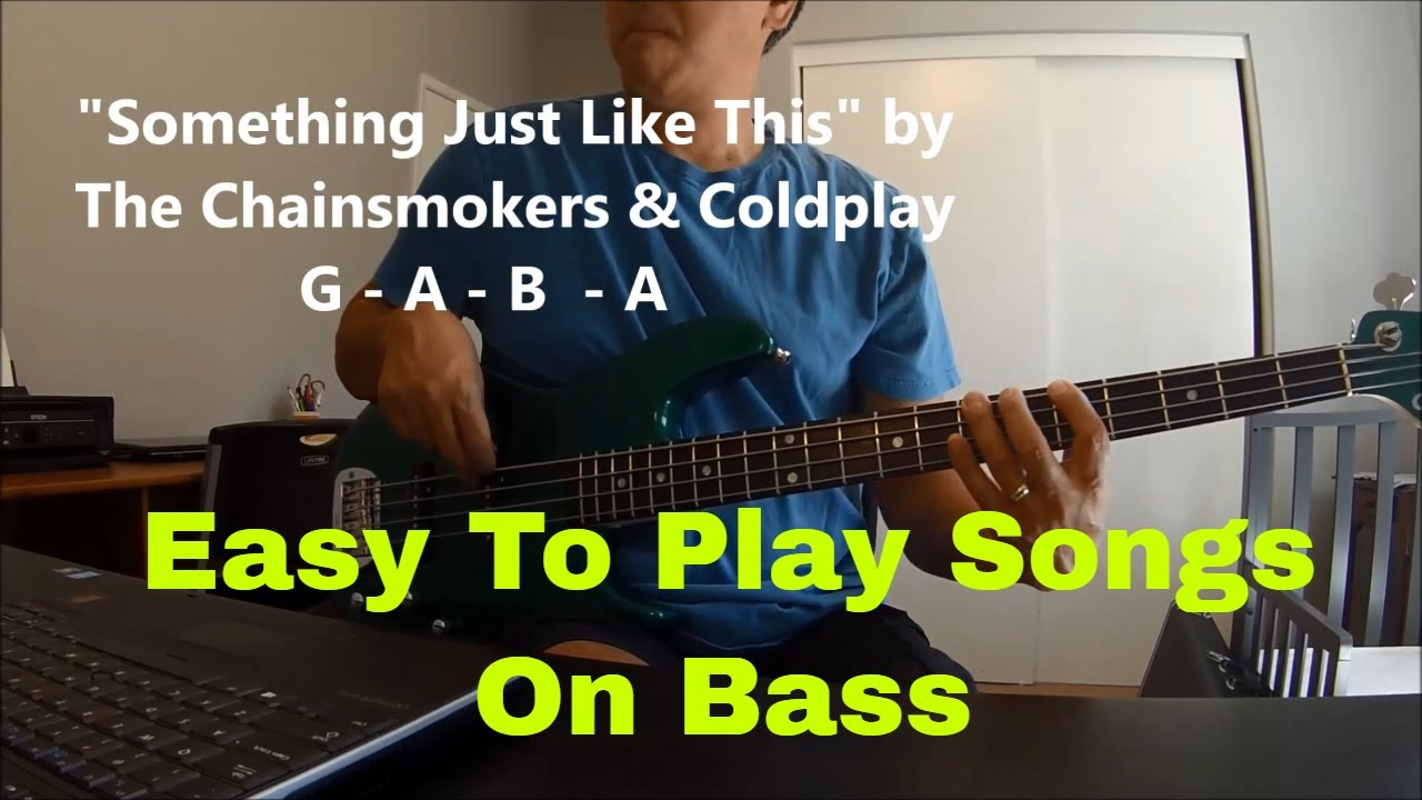 """""""Easy 3 to 4 Chord Songs To Play On Bass Guitar"""""""