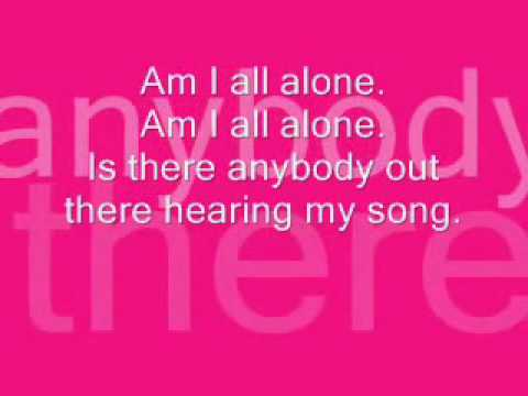 Alone - Claude Kelly Lyrics