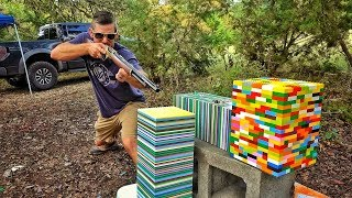 Video LEGOS... Are They BULLET PROOF?!?! MP3, 3GP, MP4, WEBM, AVI, FLV April 2018