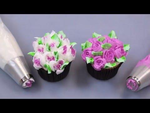 Насадки для кондитерского мешка тюльпан
