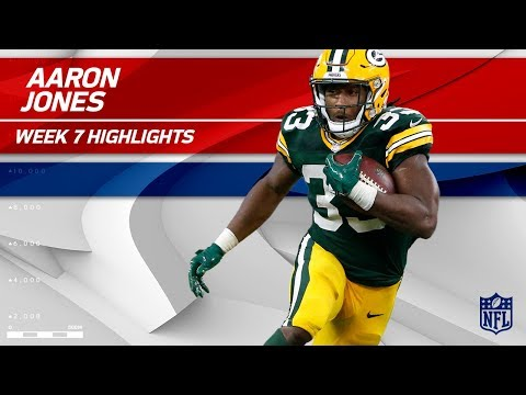 Video: Aaron Jones' 131 Yards & 1 TD vs. New Orleans! | Saints vs. Packers | Wk 7 Player Highlights