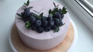 Торты на заказ СПб | Ягодный торт | Сборка торта
