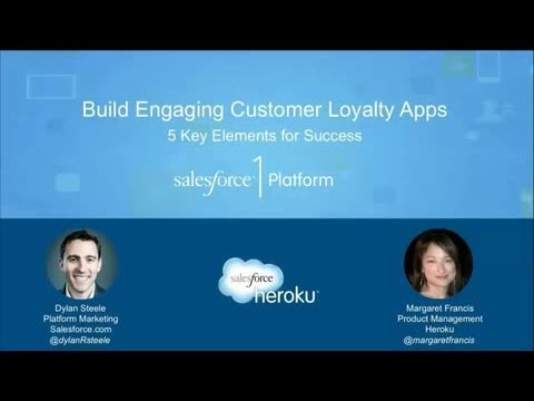 Build Engaging Customer Loyalty Apps: Salesforce.com and Heroku