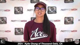 2021 Kylie Chung Pitcher and Athletic Shortstop Softball Skills Video - ACES 18 Gold