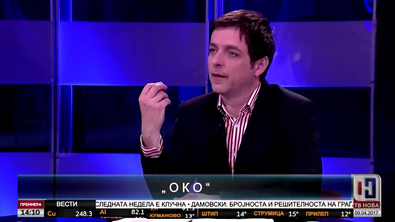 """Игор Дурловски во """"ОКО"""" со Горан Петрески"""