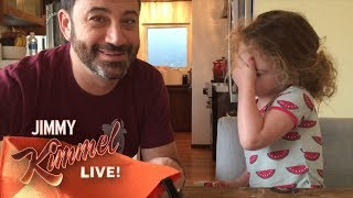 Video Jimmy Kimmel Tells His Daughter He Ate All Her Halloween Candy MP3, 3GP, MP4, WEBM, AVI, FLV Maret 2018