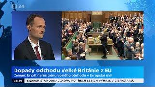 Dopady odchodu Velké Británie z EU