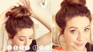How To: Messy Bun | Zoella