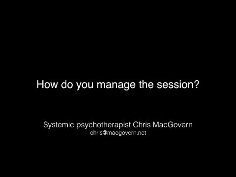3  How do you manage the sessions