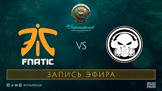 Fnatic vs  Moogle, The International 2017 Qualifiers [Mila]
