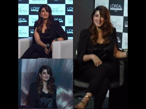 Loreal Professionnel Unviel French Browns With Twinkle Khanna