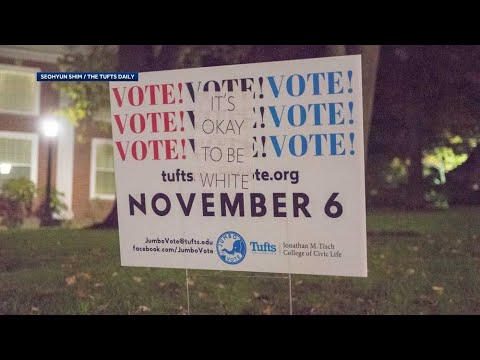 'Disturbing' flyers posted on get-out-the-vote signs