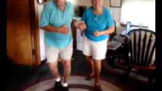 87 and 84 year old - LMFAO Party Rock! Everyday They're Shuffling