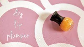 DIY Beauty   Lip Plumper That Doesn't Burn   Beauty How To