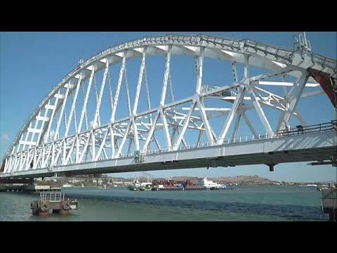 Κριμαία: Σιδηροδρομική γέφυρα προς τη Ρωσία