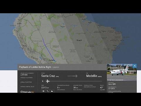 Κολομβία: Συντριβή αεροσκάφους με επιβάτες μέλη ποδοσφαιρικής ομάδας της Βραζιλίας