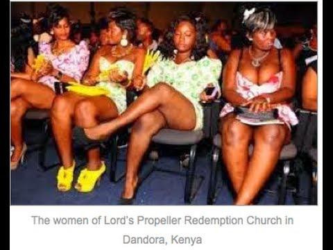 Pastor Orders Women To Take OFF Panties & Bras in Church