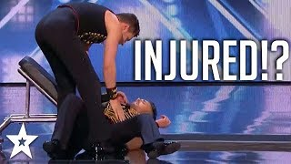 Judges Can't Believe What Happened After Fall!   America's Got Talent 2018   Got Talent Global