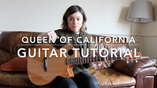 Video Queen of California Guitar Tutorial! MP3, 3GP, MP4, WEBM, AVI, FLV Maret 2019