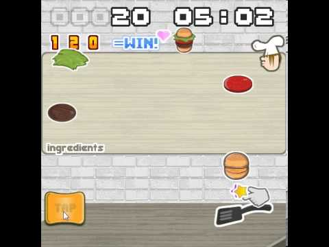 Combo Burger HTML5 Game