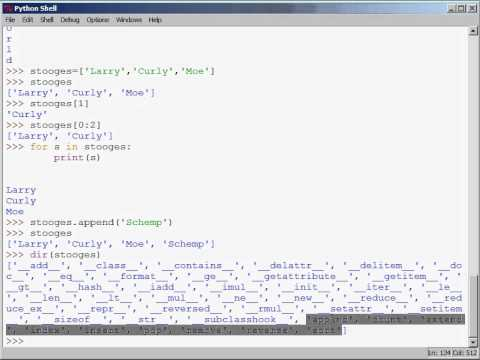 Python Training | Video Tutorial on Lists, Tuples, Strings and Dictionaries