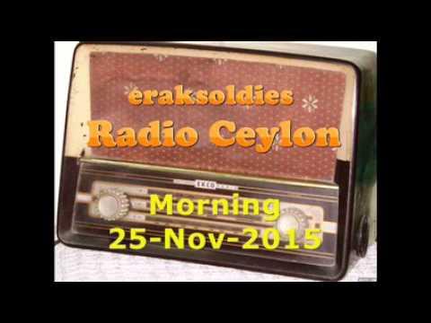 Video Radio Ceylon 25-11-2015~Wednesday Morning~02 Purani Filmon Ka Sangeet download in MP3, 3GP, MP4, WEBM, AVI, FLV January 2017