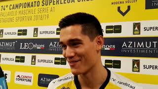 Modena Volley, intervista Micah Christenson
