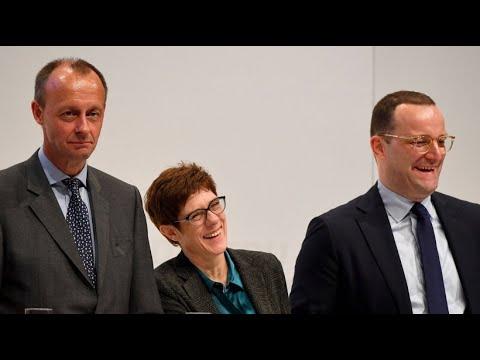 CDU-Regionalkonferenz: Der Dreikampf ist eröffnet