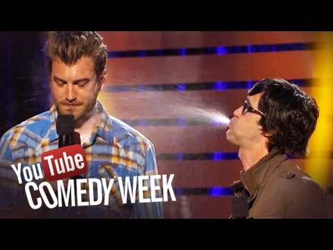 live youtube comedy - Video stars Rhett & Link introduce the #SpitTake Challenge at the Big Live Comedy Show. Upload yours with the hashtag #SpitTake! SUBSCRIBE to http://youtube....