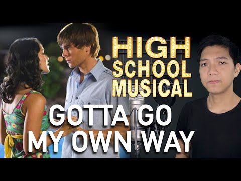 Gotta Go My Own Way (Troy Part Only - Instrumental) - High School Musical 2