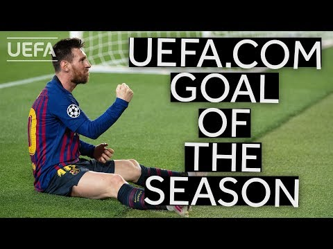 LIONEL MESSI: UEFA.COM Goal of the Season Winner 2018/19