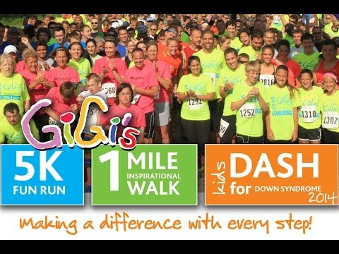 Watch video Down Syndrome: GiGi's 5 k recap