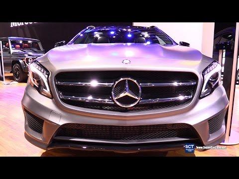 2016 Mercedes Benz GLA Class GLA250 4Matic - Exterior&Interior Walkaround - 2015 LA Auto Show