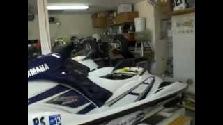1. Waverunners 2004 Yamaha FX1100HO and 2001 Yamaha GP800R