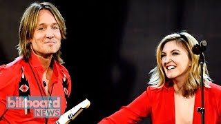 Keith Urban & Julia Michaels Team Up for 'Coming Home' Duet at 2018 ACM Awards | Billboard News
