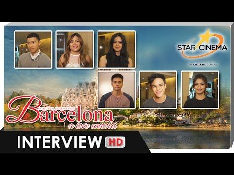 Interview | Ronnie, Sue, Loisa, Enchong, Alora, Khalil | 'Barcelona: A Love Untold'