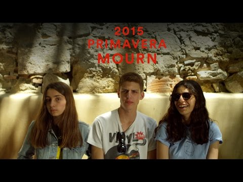 Mourn | Primavera 2015 | PitchforkTV (видео)