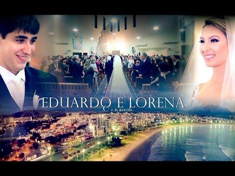 O casamento perfeito de Lorena e Eduardo.