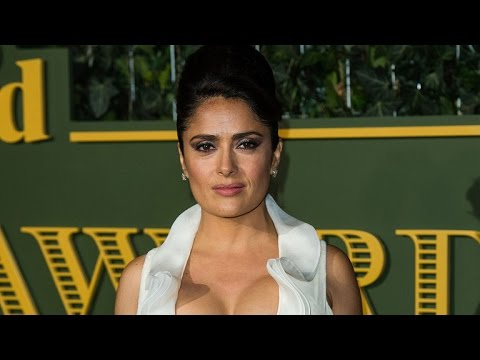 Selma Hayek Rushed To The Hospital