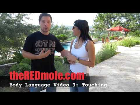 Body Language Video 3 – How to Touch and Seduce – Touch and be Dominant