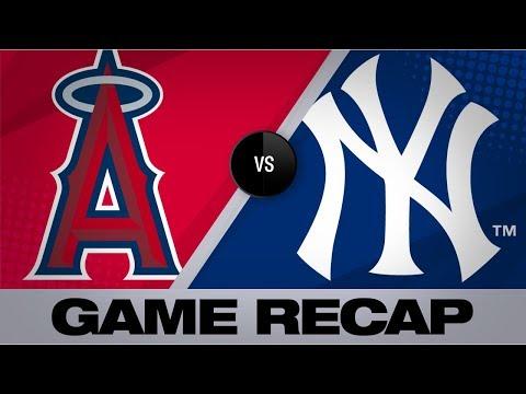 Video: Fletcher, bullpen lead Angels past Yankees | Angels-Yankees Game Highlights 9/18/19