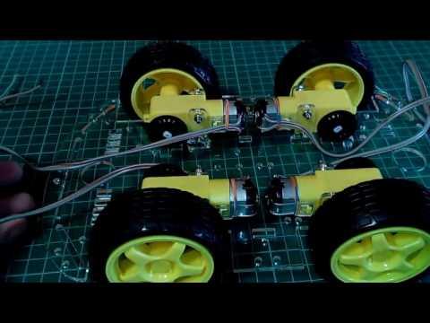 Arduino car Montaje chasis