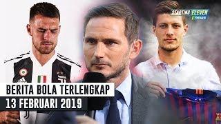 Video Ramsey RESMI Ke Juventus 👍 Penyerang Baru Barca 😍 Lampard Tolak Chelsea (Berita Bola Terlengkap) MP3, 3GP, MP4, WEBM, AVI, FLV Februari 2019