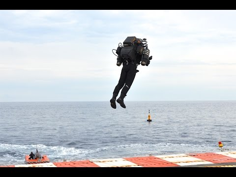 Jet Pack Flight In Monaco