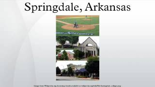 Springdale (AR) United States  City pictures : Springdale, Arkansas