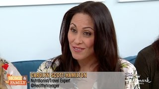 Holiday Warm & Cold Travel Destinations on Hallmark Home & Family with Carolyn Scott-Hamilton